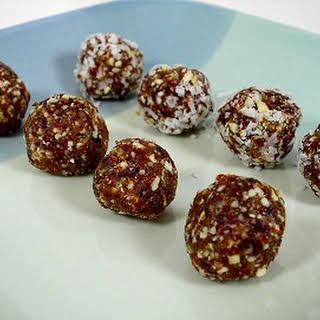 Cherry Date-Nut Balls.