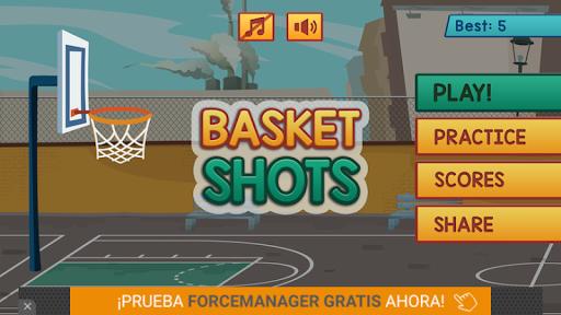 Basketball Shots 2D