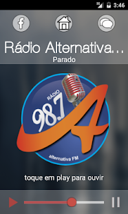Rádio Alternativa FM Giruá- screenshot thumbnail