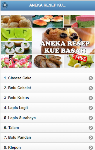 Aneka Resep Kue Basah