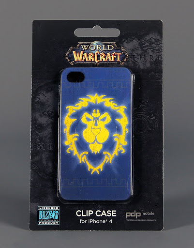 Case:World of Warceaft iPhone Clip Case: Alliance Crest