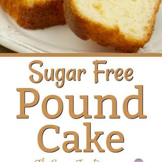 Sugar Free Pound Cake.