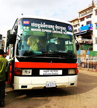Photo: Mekong Express Limousine bus from Phnom Penh.