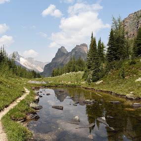 Nature Trails by Griffin Li - Landscapes Waterscapes ( mountain, mountains, waterscape, water, lake )