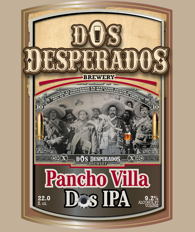 Logo of Dos Desperados Pancho Villa
