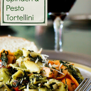 Spinach and Pesto Tortellini