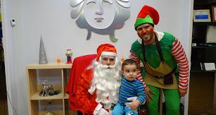 Papa Noel visitará Grupo Cibeles este jueves.
