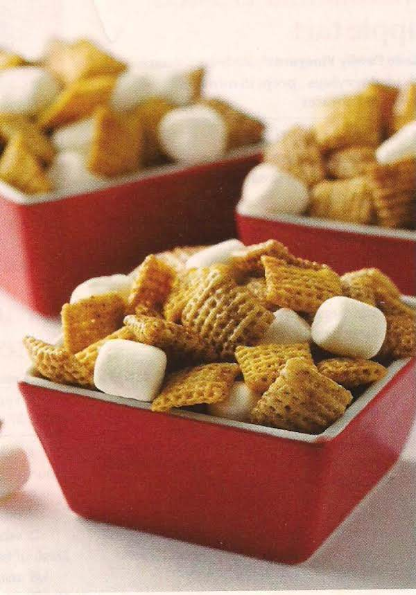 Hot Buttered Yum Chex Mix Recipe