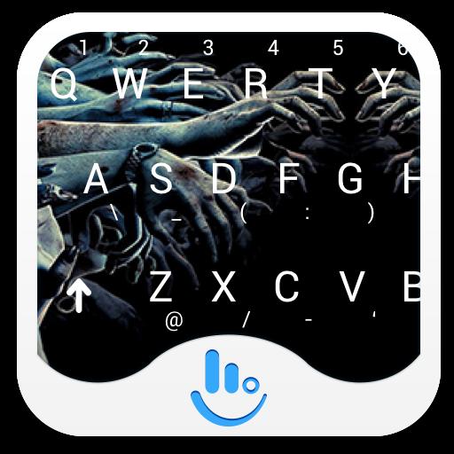 Walking Dead Keyboard Theme