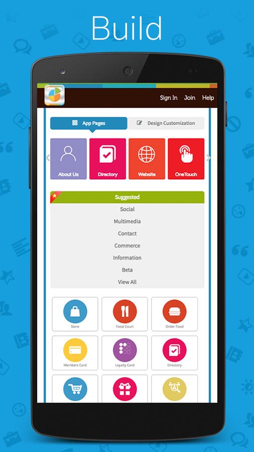 App builder by appy pie create app free app maker for Home builder app