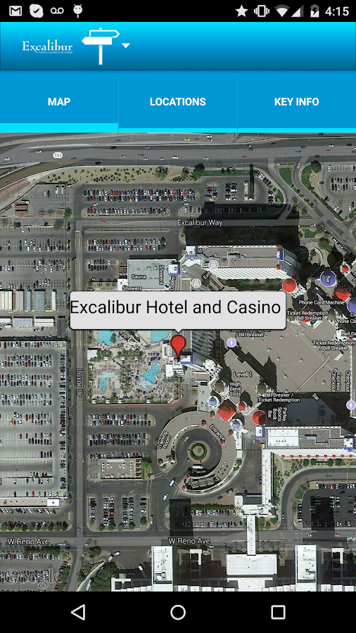 Excalibur Las Vegas- screenshot