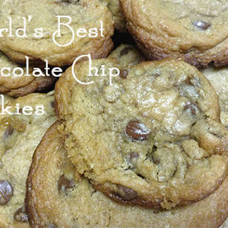 The World's Best Chocolate Chip Cookies.