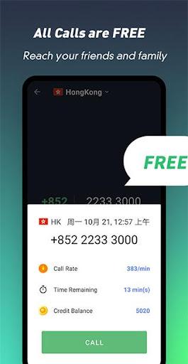 Free Call Lite screenshot 1