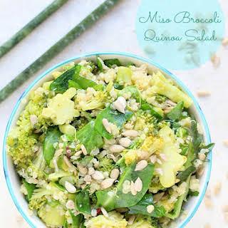 Miso Broccoli & Quinoa Salad.