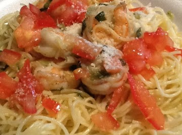 Angel Hair Pasta W/shrimp Recipe