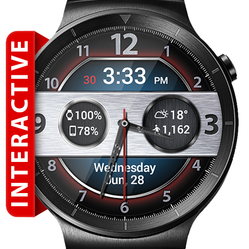 Time Racer HD Watch Face