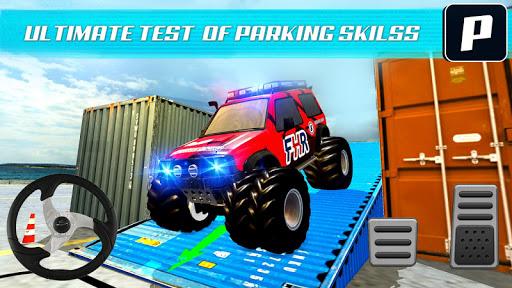 Monster Truck Car Parking & driving Simulator screenshots 2