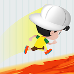 Impossible floor is lava challenge icon