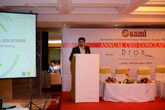 Photo: Mr. Syed A. Asim, COO, Dion addressing the Conclave