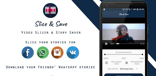 Slice Save Video Slicer Whatsapp Story Saver Apps Bei