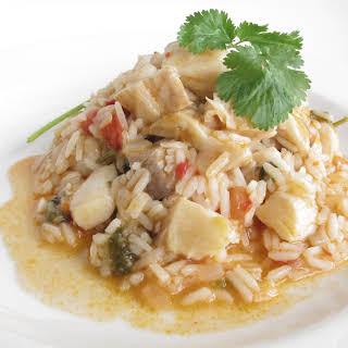Fish Flavored Rice.