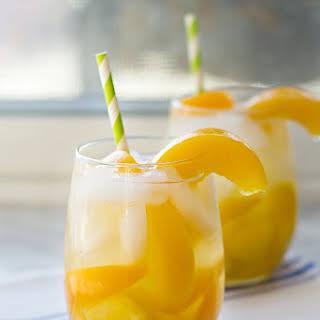Peach Mango Sangria.
