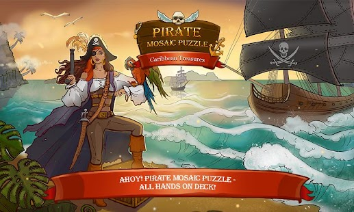 Pirate Mosaic Puzzle- screenshot thumbnail