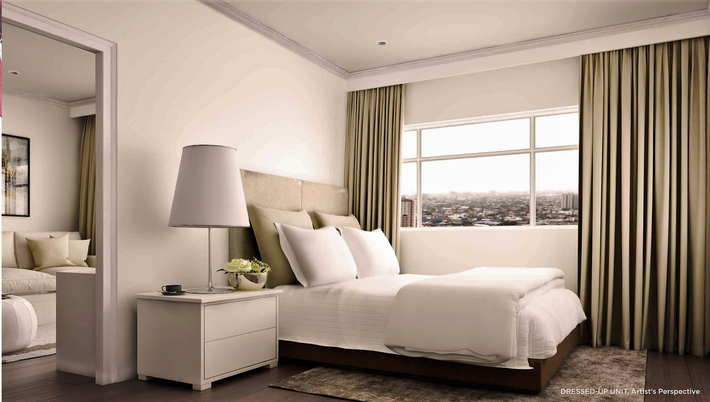 Bloom Residences, Sucat, Paranaque City bedroom