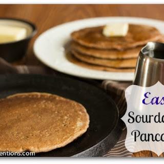 Sourdough Pancakes (Nut Free, Yeast Free, Sugar Free).