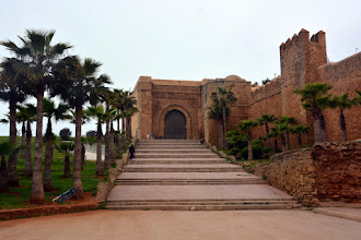 Photo: And then to the Kasbah of Oudaya