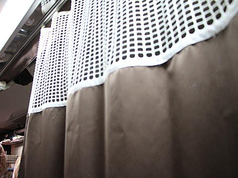 京浜急行バス「エディ号」吉野川系統 3207 通路カーテン
