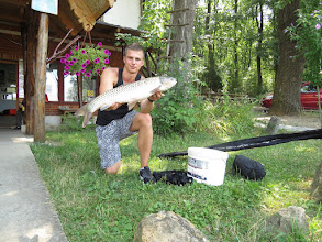 Photo: Foki Kristóf 4 kg-os amúrja.
