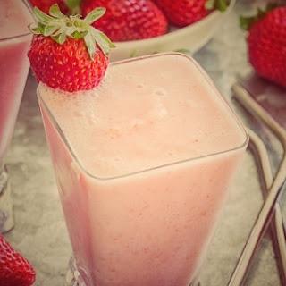 Boozy Strawberry Julius.