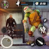 Turtle Ninja Critical Escape: City Prison