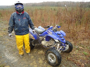 Photo: Sat, May 14/11 SBC ATV Day - Pastor Mike . . . this was his cleanest and driest moment of the trip