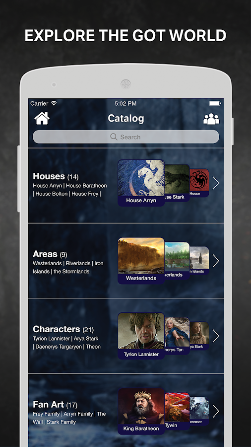Thrones Amino for Ice and Fire- screenshot