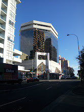 Photo: Third row of windows up, with a lovely view over the utilitarian rooftops of Bondi Junction.