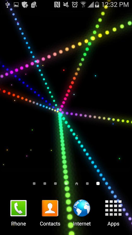 3d star matrix live wallpaper android