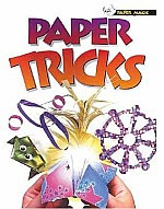 Photo: Paper Tricks (Paper Magic) Folder, Alan Scholastic Paperbacks 2001 Hardback 32 pp 7.5 x 9.75 ins ISBN 0439260345 Each project is easy to follow, with basic folding procedures clearly explained using the internationally recognized symbols, Step-by-step instructions, and expert folding tips.