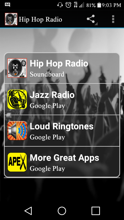 hip hop radio free android apps on google play. Black Bedroom Furniture Sets. Home Design Ideas