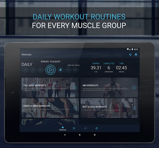 Home Workout - Fitness & Bodybuilding 1.2.6 Screenshots 9