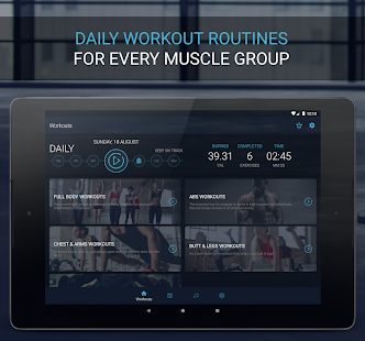 Home Workout - Fitness & Bodybuilding Screenshot