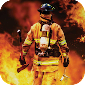 Firefighters. Live wallpapers