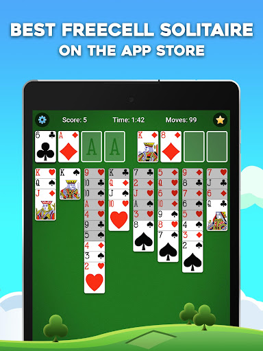 FreeCell Solitaire 5.4.0.3366 screenshots {n} 7