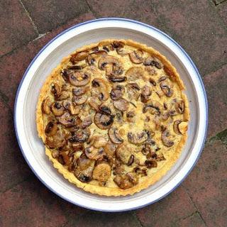 Mushroom Tart Recipe