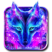 App Galaxy Wild Wolf Keyboard Theme apk for kindle fire