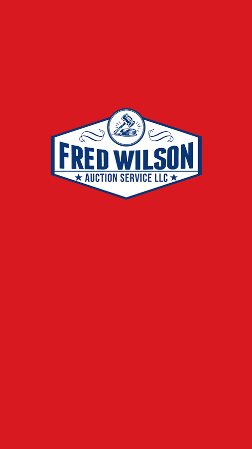 Fred Wilson Auction Service- screenshot