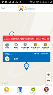 GWS SPEED APP- screenshot thumbnail