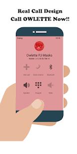 Call From Owlette Pj hero Masks Fake - náhled