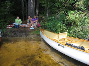 Photo: Johnny's 20 year old canoe - like new!